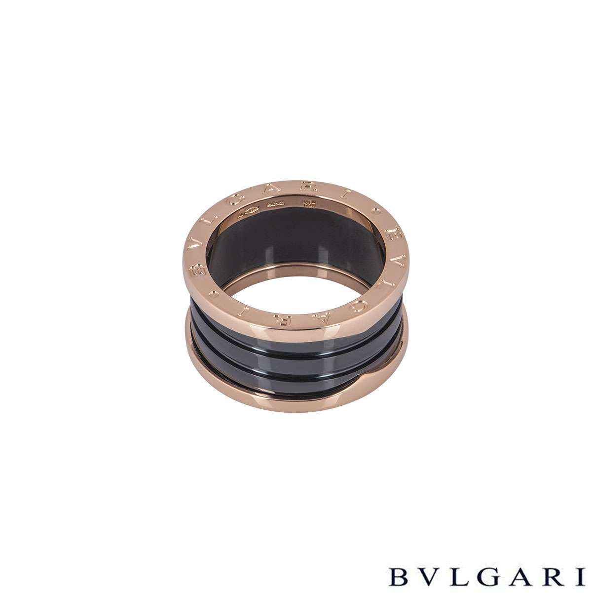 Bvlgari Rose Gold B.Zero1 Ring